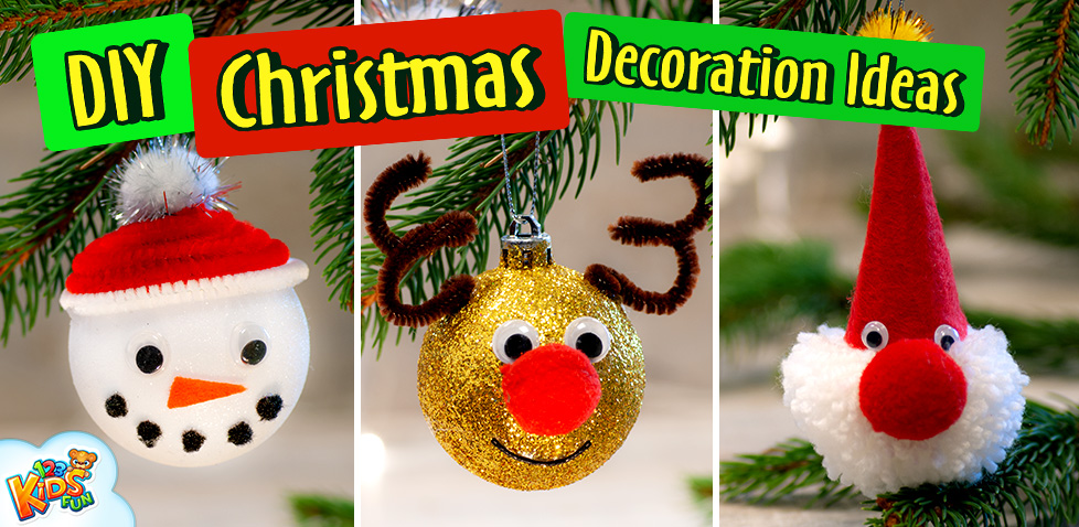 DIY Christmas Craft for Kids Decoration Ideas