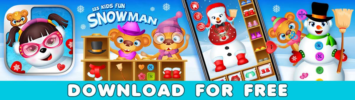 Snowman - Christmas Game for Kids