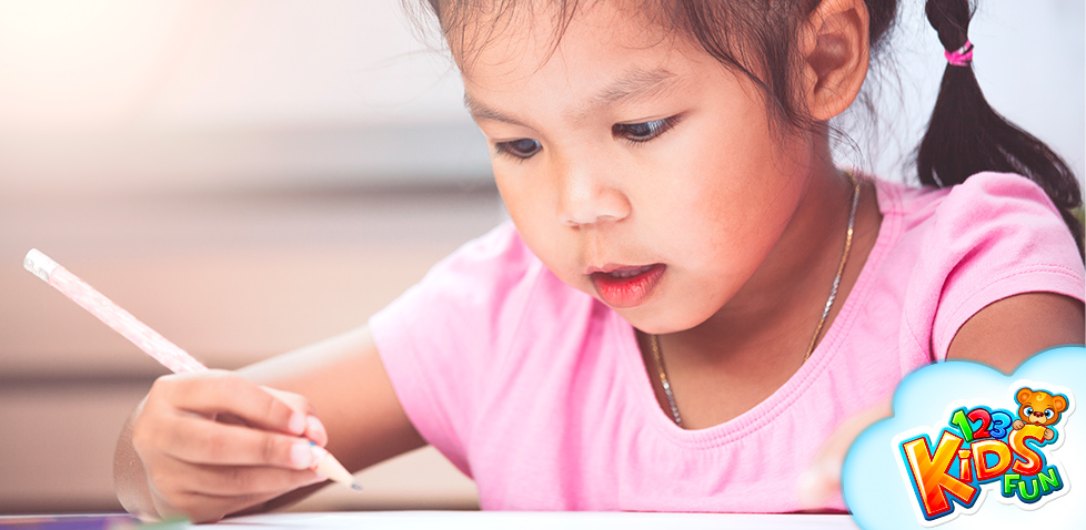 How to teach your child to write
