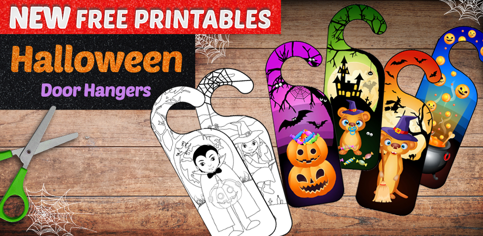 Halloween Door Hangers