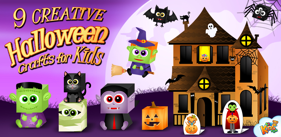 9 Creative Halloween Crafts for Kids