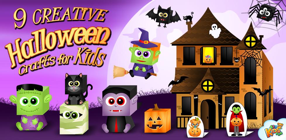 9 Creative Halloween Crafts for Kids