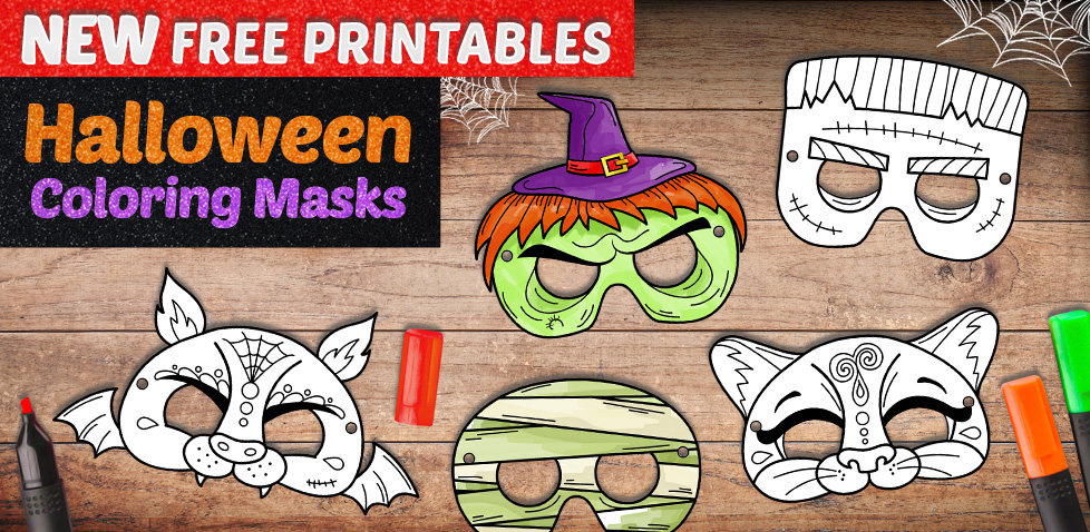 Halloween Mask - Crafts for Kids