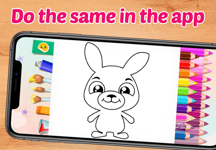free coloring app for kids